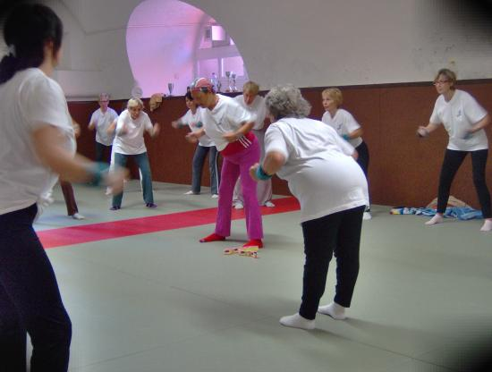 cours de gym 2009